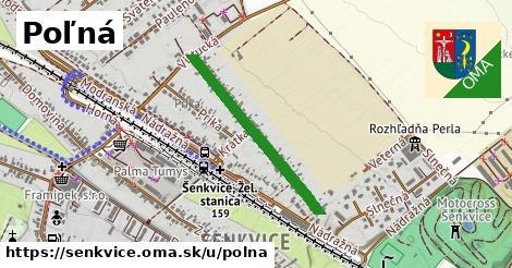 ilustrácia k Poľná, Šenkvice - 596m