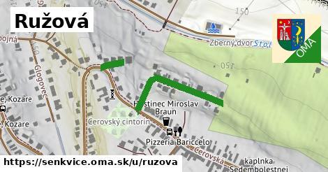 ilustrácia k Ružová, Šenkvice - 302m