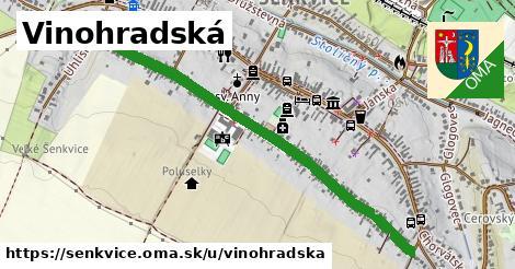 ilustračný obrázok k Vinohradská, Šenkvice