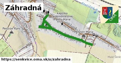 ilustrácia k Záhradná, Šenkvice - 1,03km