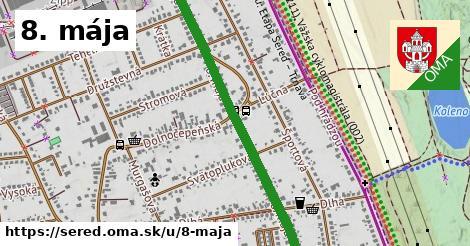 ilustrácia k 8. mája, Sereď - 1,41km