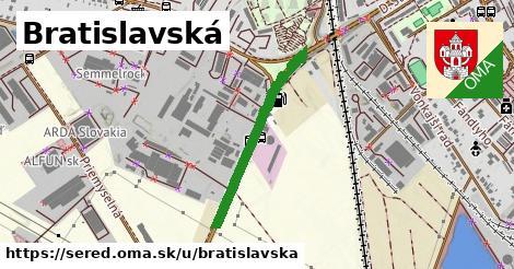 ilustrácia k Bratislavská, Sereď - 577m