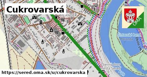 ilustrácia k Cukrovarská, Sereď - 1,29km