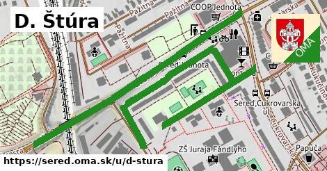 ilustrácia k D. Štúra, Sereď - 1,24km