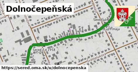 ilustrácia k Dolnočepenská, Sereď - 0,99km