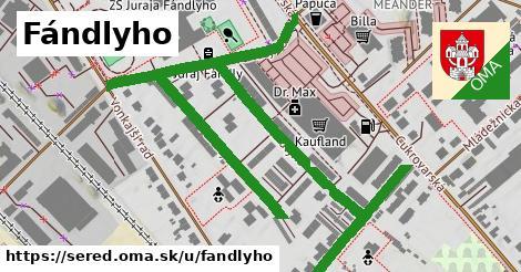 ilustrácia k Fándlyho, Sereď - 1,12km
