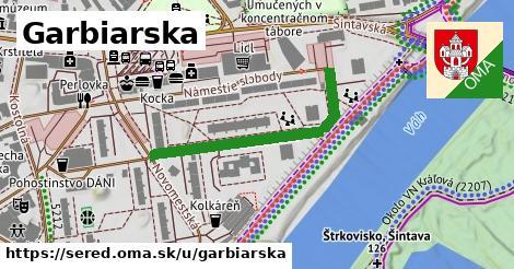 ilustrácia k Garbiarska, Sereď - 350m