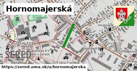 ilustračný obrázok k Hornomajerská, Sereď