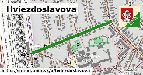 ilustrácia k Hviezdoslavova, Sereď - 448m