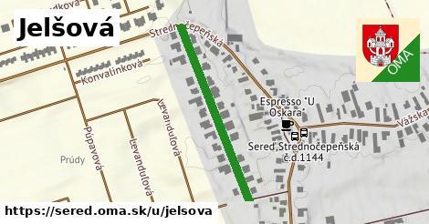 ilustrácia k Jelšová, Sereď - 327m