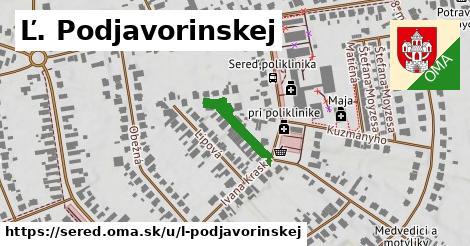 ilustrácia k Ľ. Podjavorinskej, Sereď - 180m