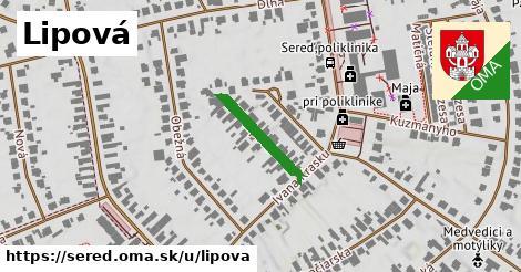 ilustračný obrázok k Lipová, Sereď
