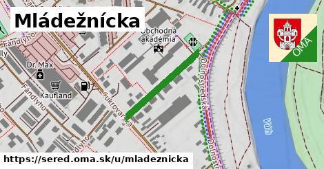 ilustrácia k Mládežnícka, Sereď - 221m