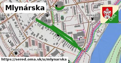 ilustrácia k Mlynárska, Sereď - 620m