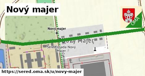ilustračný obrázok k Nový majer, Sereď