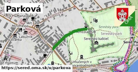 ilustrácia k Parková, Sereď - 218m