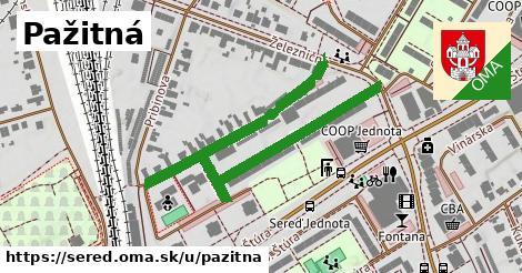 ilustrácia k Pažitná, Sereď - 662m