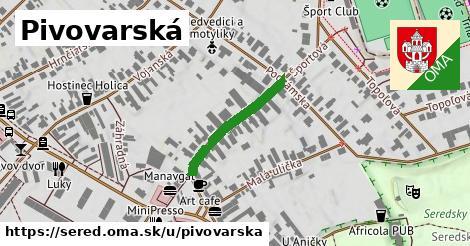 ilustračný obrázok k Pivovarská, Sereď
