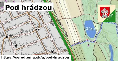 ilustrácia k Pod hrádzou, Sereď - 1,30km