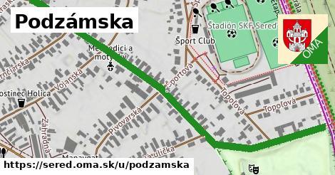 ilustrácia k Podzámska, Sereď - 0,83km