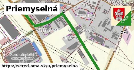 ilustrácia k Priemyselná, Sereď - 0,83km