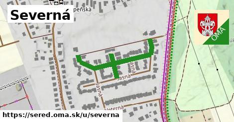 ilustrácia k Severná, Sereď - 384m