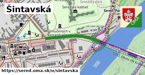 ilustračný obrázok k Šintavská, Sereď