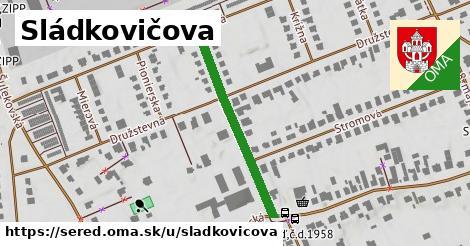 ilustrácia k Sládkovičova, Sereď - 324m