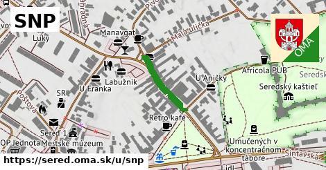 ilustrácia k SNP, Sereď - 333m