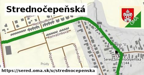 ilustračný obrázok k Strednočepeňská, Sereď