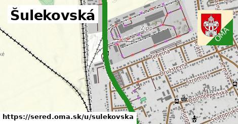ilustrácia k Šulekovská, Sereď - 1,40km