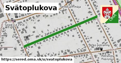 ilustrácia k Svätoplukova, Sereď - 486m