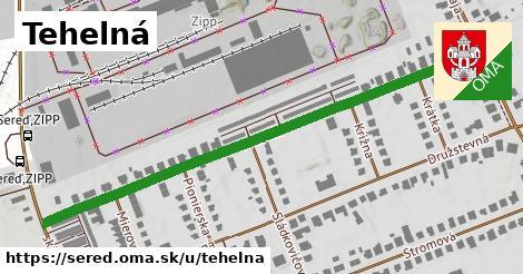 ilustračný obrázok k Tehelná, Sereď