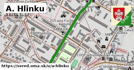 ilustrácia k A. Hlinku, Sereď - 479m