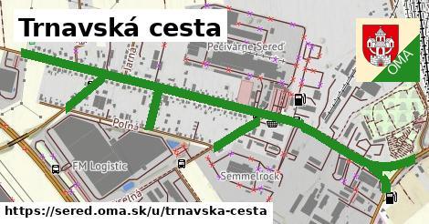 ilustrácia k Trnavská cesta, Sereď - 1,59km