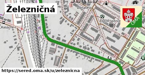 ilustrácia k Železničná, Sereď - 0,85km