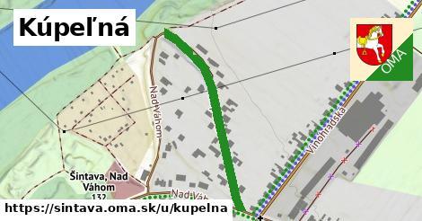 ilustrácia k Kúpeľná, Šintava - 351m