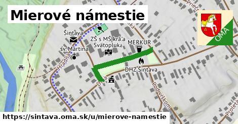 ilustrácia k Mierové námestie, Šintava - 197m