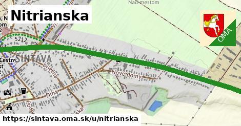 ilustrácia k Nitrianska, Šintava - 1,70km