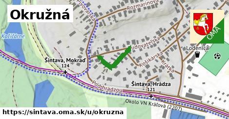 ilustrácia k Okružná, Šintava - 155m