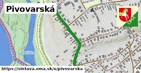 ilustrácia k Pivovarská, Šintava - 356m