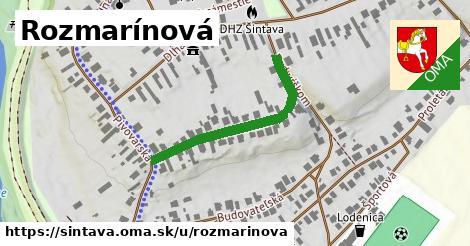 ilustrácia k Rozmarínová, Šintava - 345m