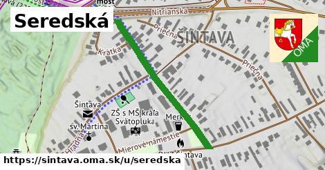 ilustrácia k Seredská, Šintava - 363m