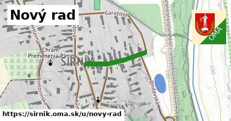 ilustrácia k Nový rad, Sirník - 206m