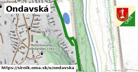 ilustrácia k Ondavská, Sirník - 395m