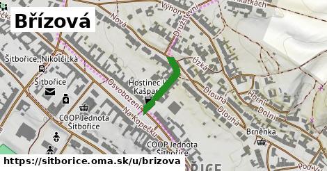 ilustrácia k Břízová, Šitbořice - 153m