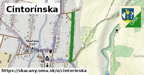 ilustrácia k Cintorínska, Skačany - 523m