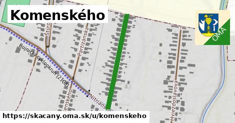 ilustrácia k Komenského, Skačany - 302m