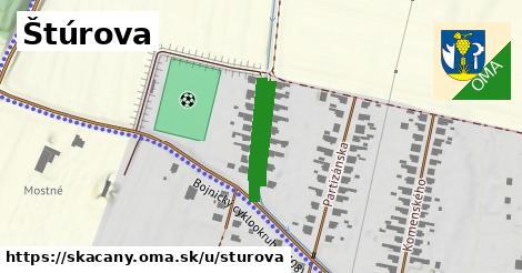 ilustrácia k Štúrova, Skačany - 329m