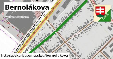 ilustrácia k Bernolákova, Skalica - 596m